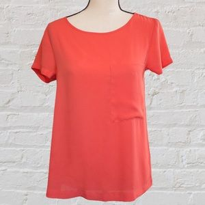 Express Coral Blouse